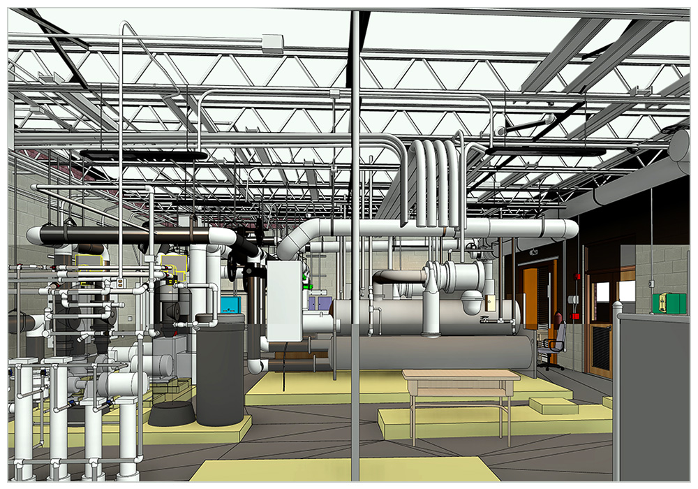 Scan-to-BIM-Modeling-Services-for-Mechanical-Room-in-Colorado-by-United-BIM