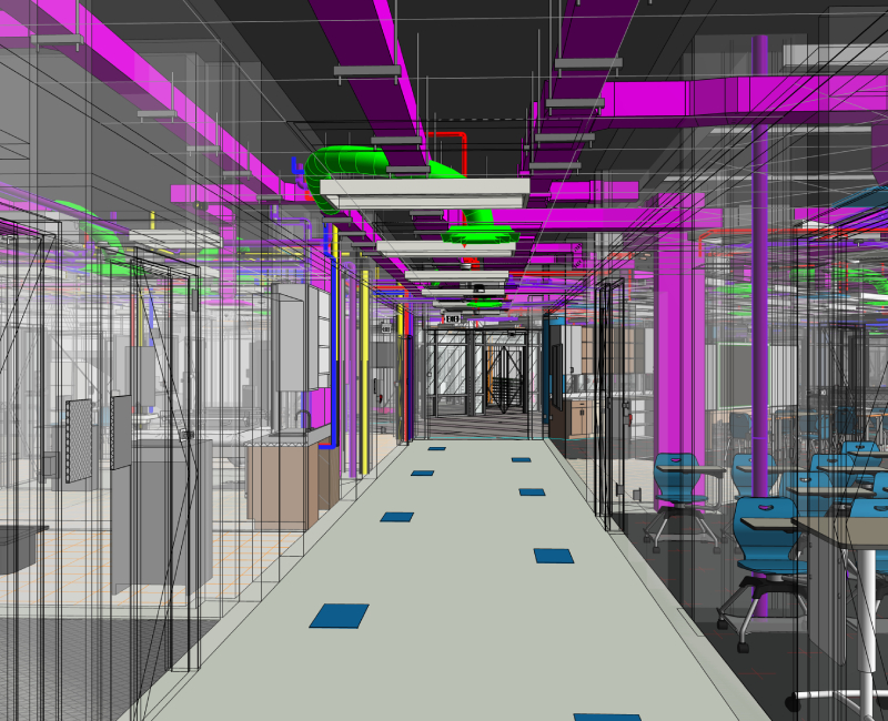 LOD 400 BIM Model by United-BIM