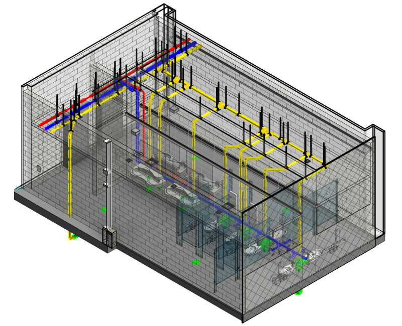 LOD 400 BIM Model Project by United-BIM