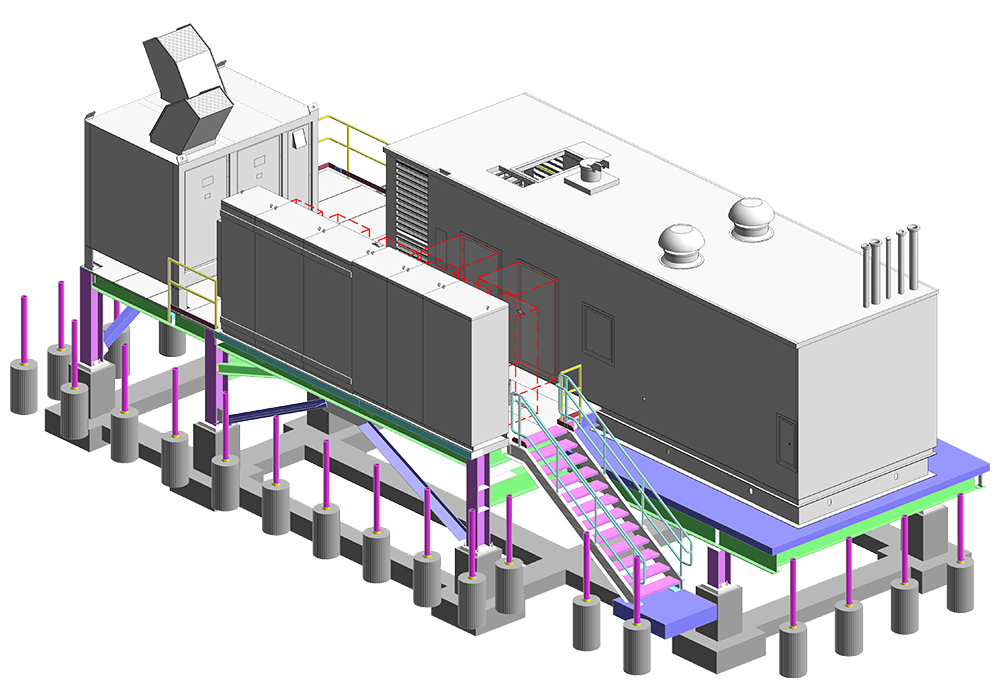 3D View of the Project by United-BIM