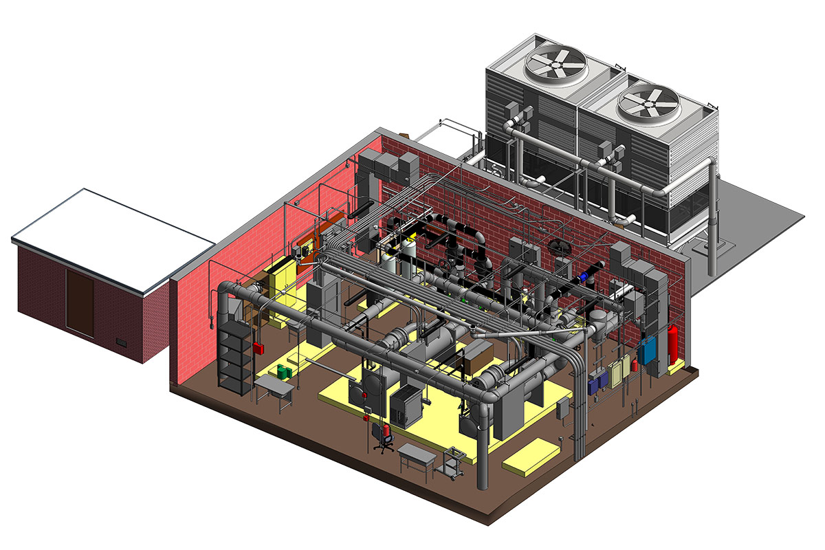 Point Cloud Scan to BIM Project by United-BIM