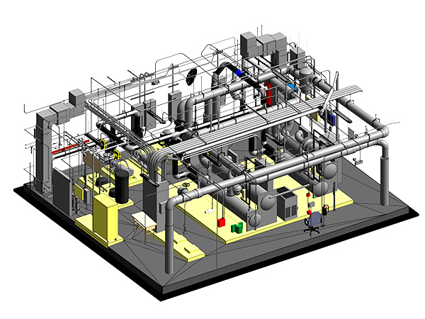 Mechanical Modeling Services by United-BIM 600x450