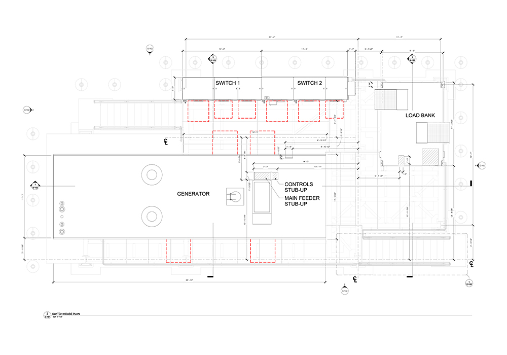 Switch House Plan of the Project by United-BIM