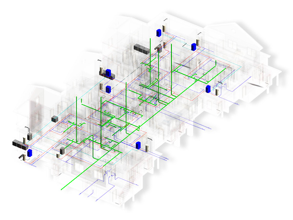 Plumbing Modeling Services by United-BIM 600x450