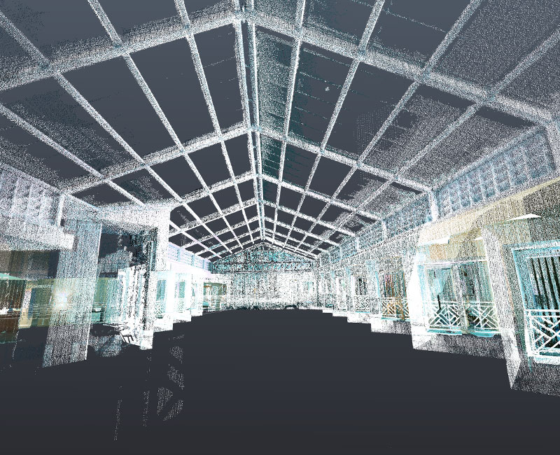 Point Cloud Scan of a Hotel Project by United-BIM-800x650