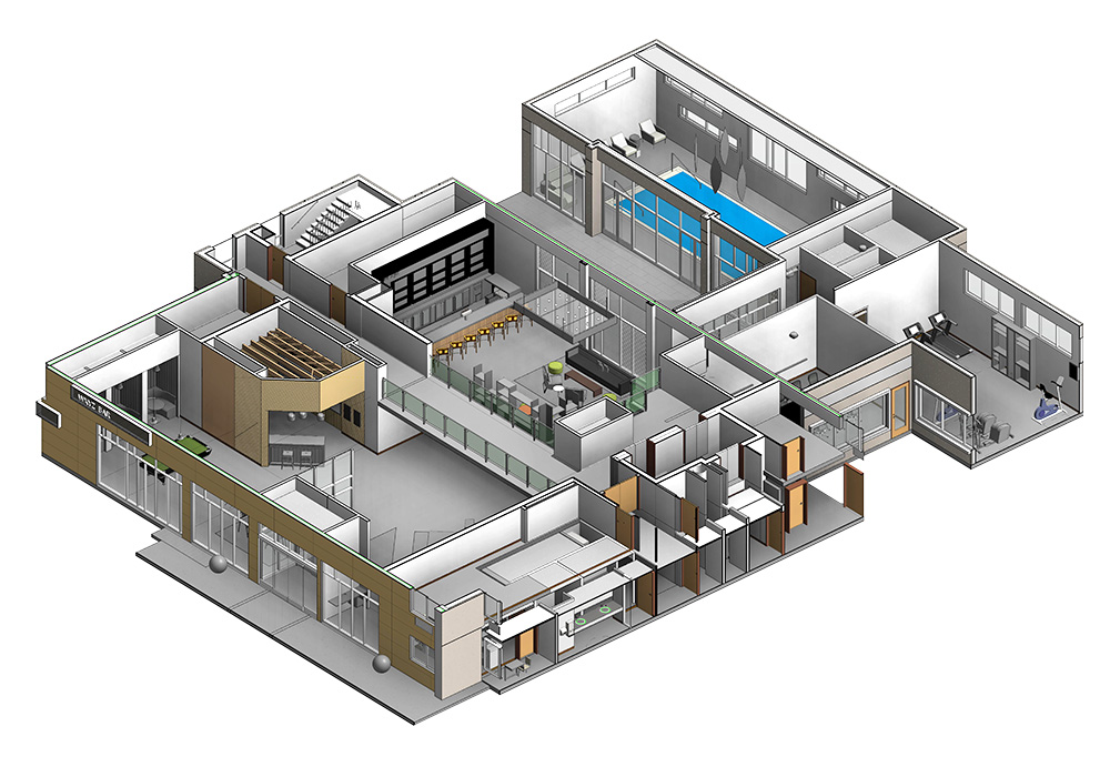 Section-View-of-Hotel-by-United-BIM
