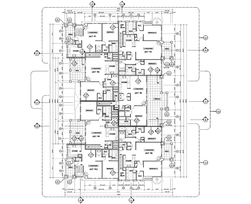 Architectural Drafting Services by United-BIM