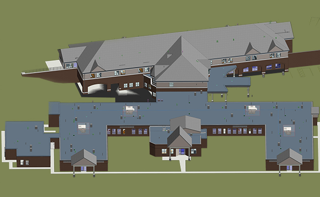 Architectural-BIM-Services-in-Florida-for-a-Residential Project by United-BIM