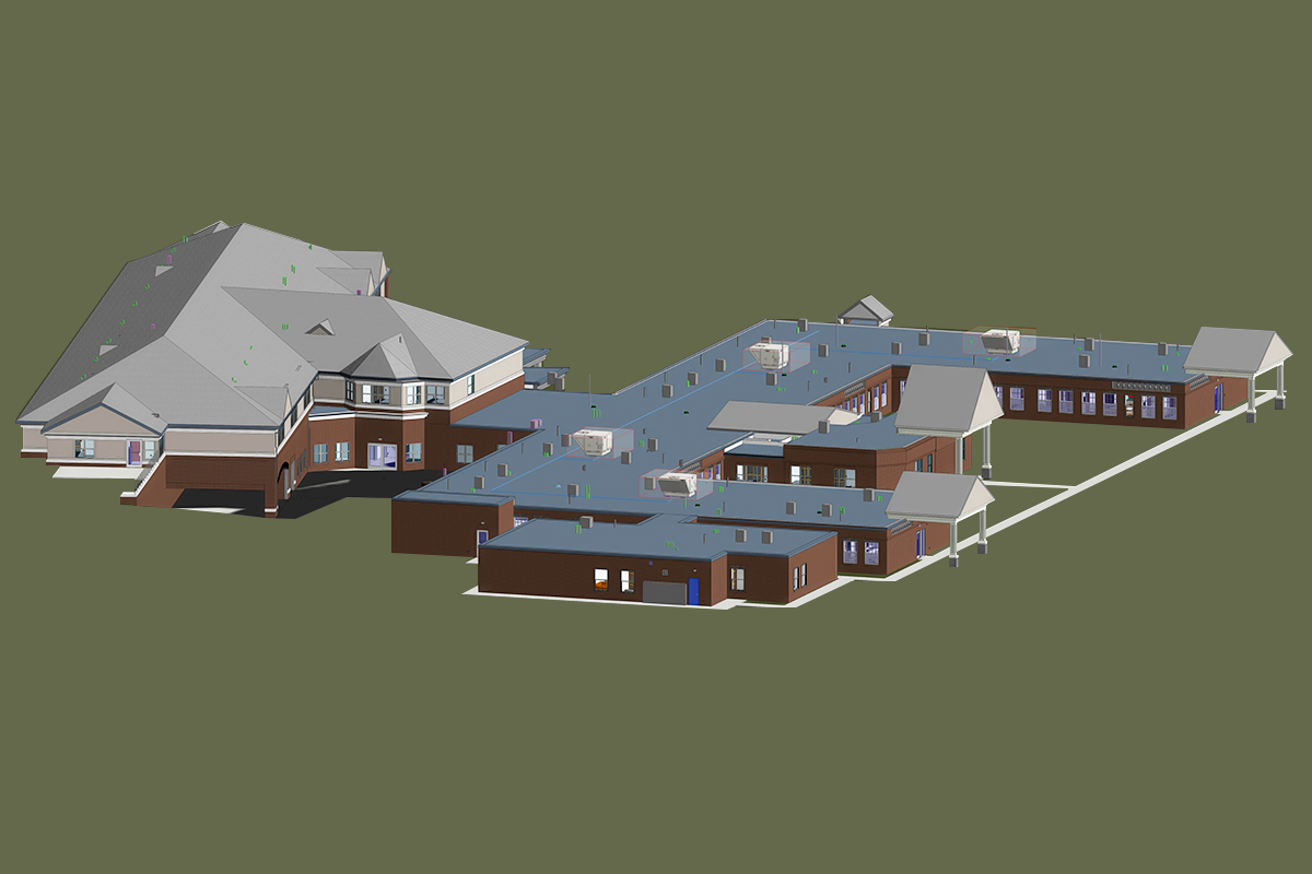 Architectural BIM Services in Florida for a Residential Project by United-BIM_