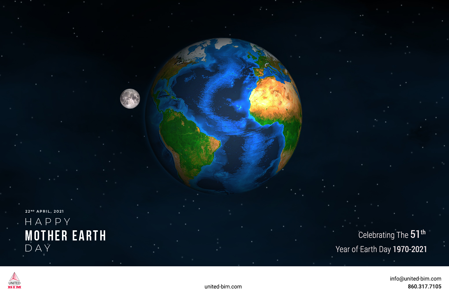 Happy Earth Day Graphic by United-BIM