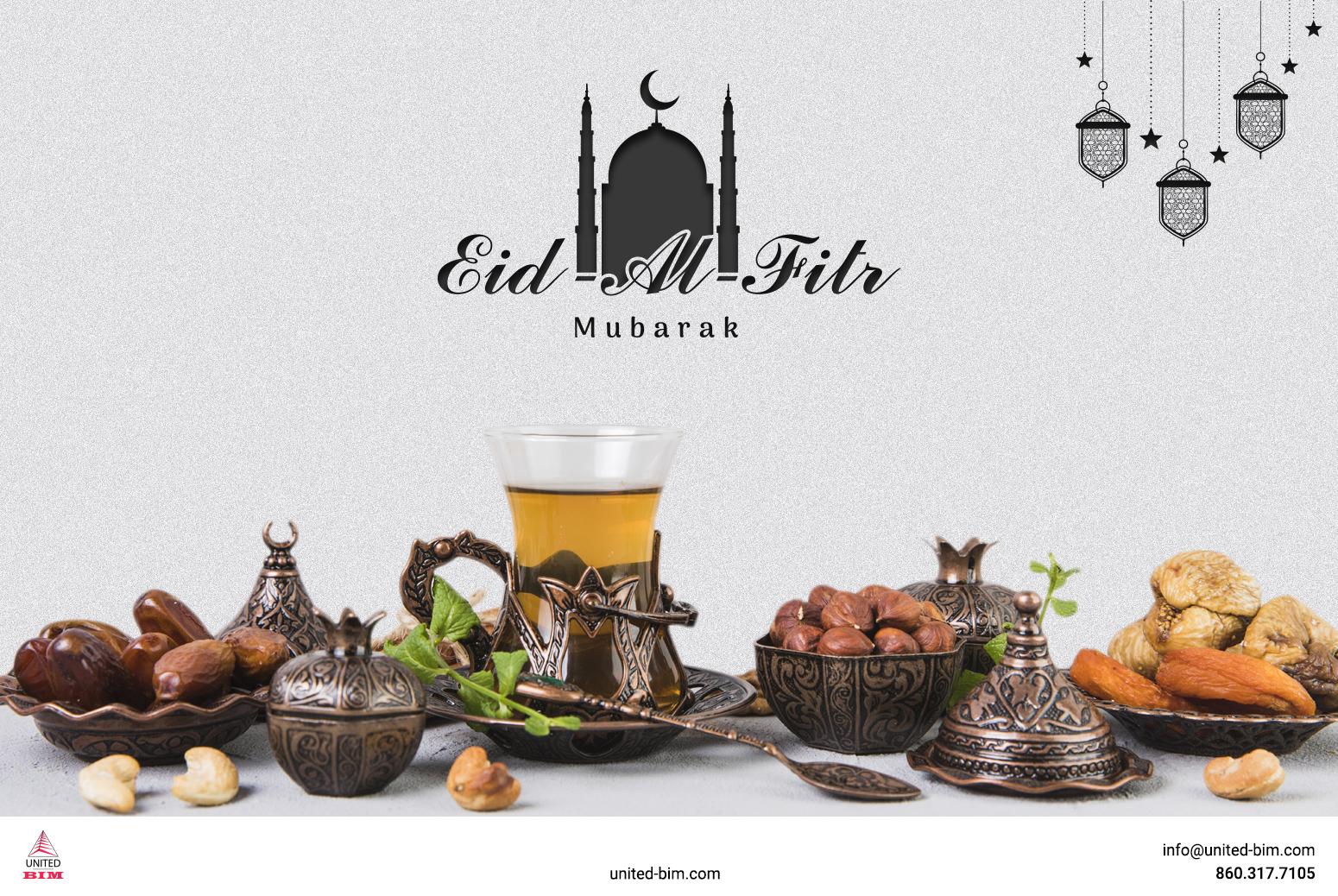 Happy Eid-Al-Fitr 2021 by United-BIM