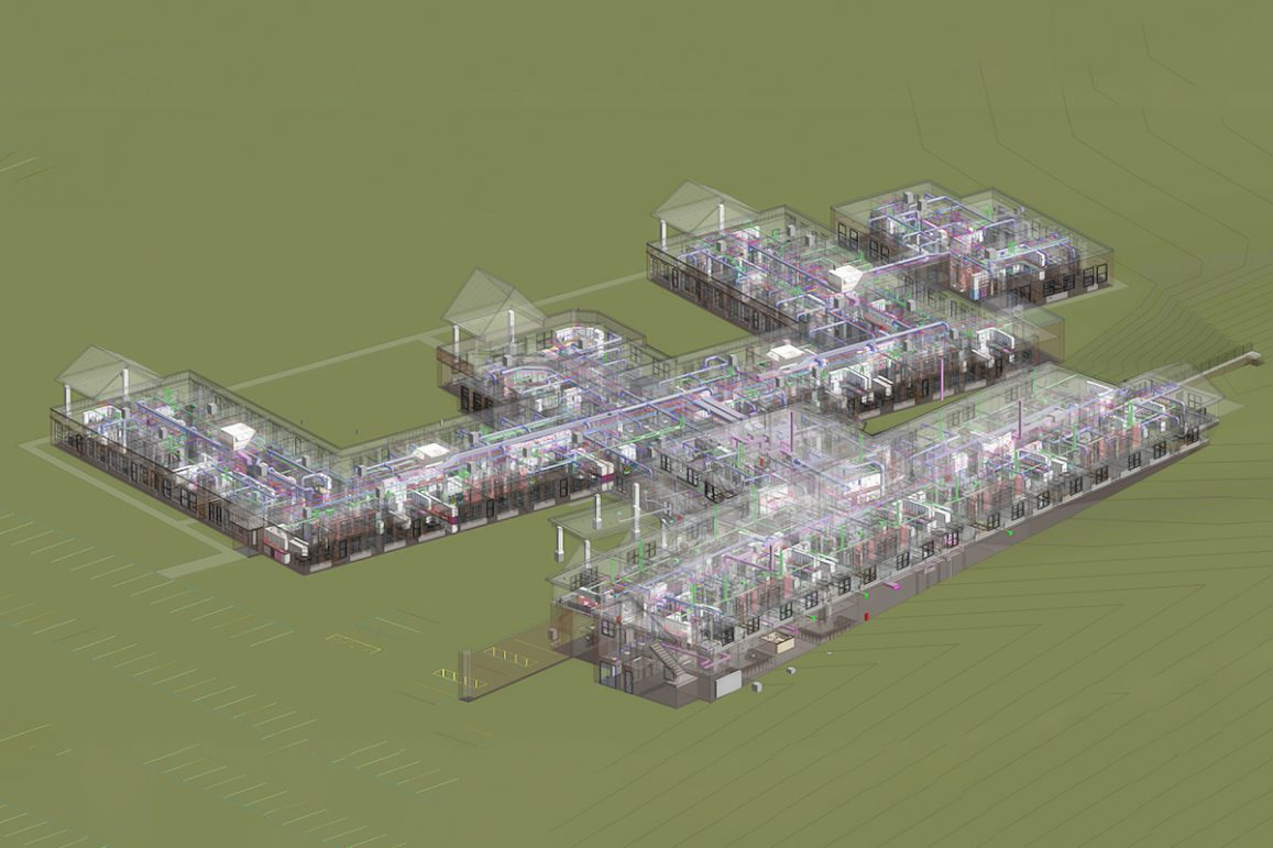 MEP BIM Services for a Residential Project by United-BIM