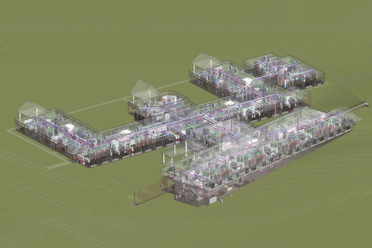 MEP BIM Services in Florida for a Residential Project by United-BIM