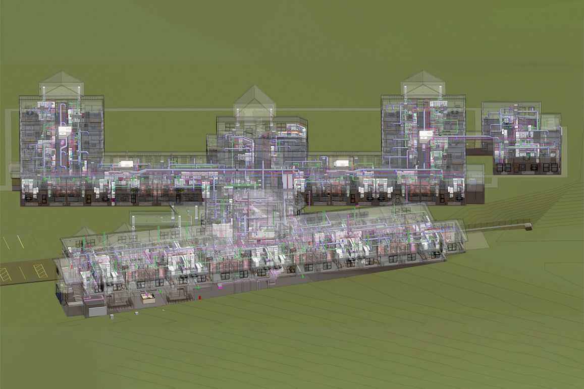 MEPFP BIM Services for a Residential Project by United-BIM