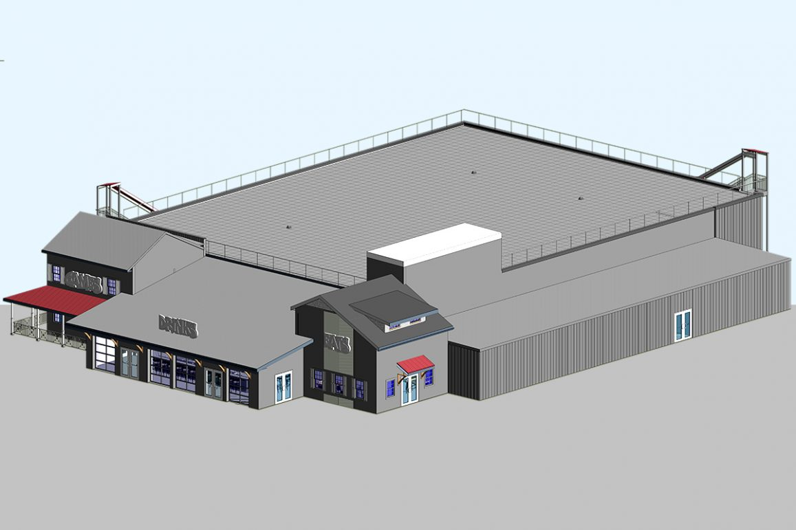 Architectural and MEP BIM Services for Commercial Project by United-BIM