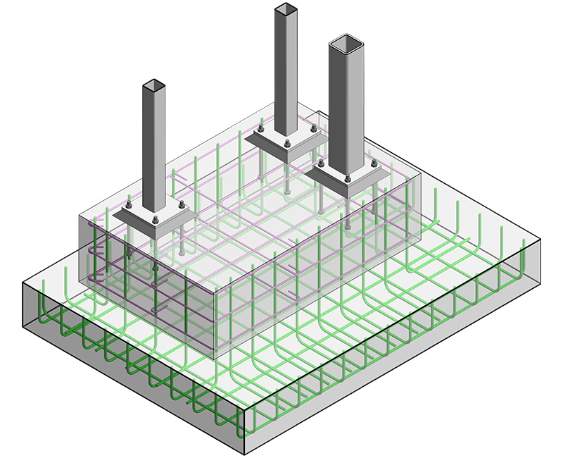 Structural Rebar Detailing Services by United-BIM