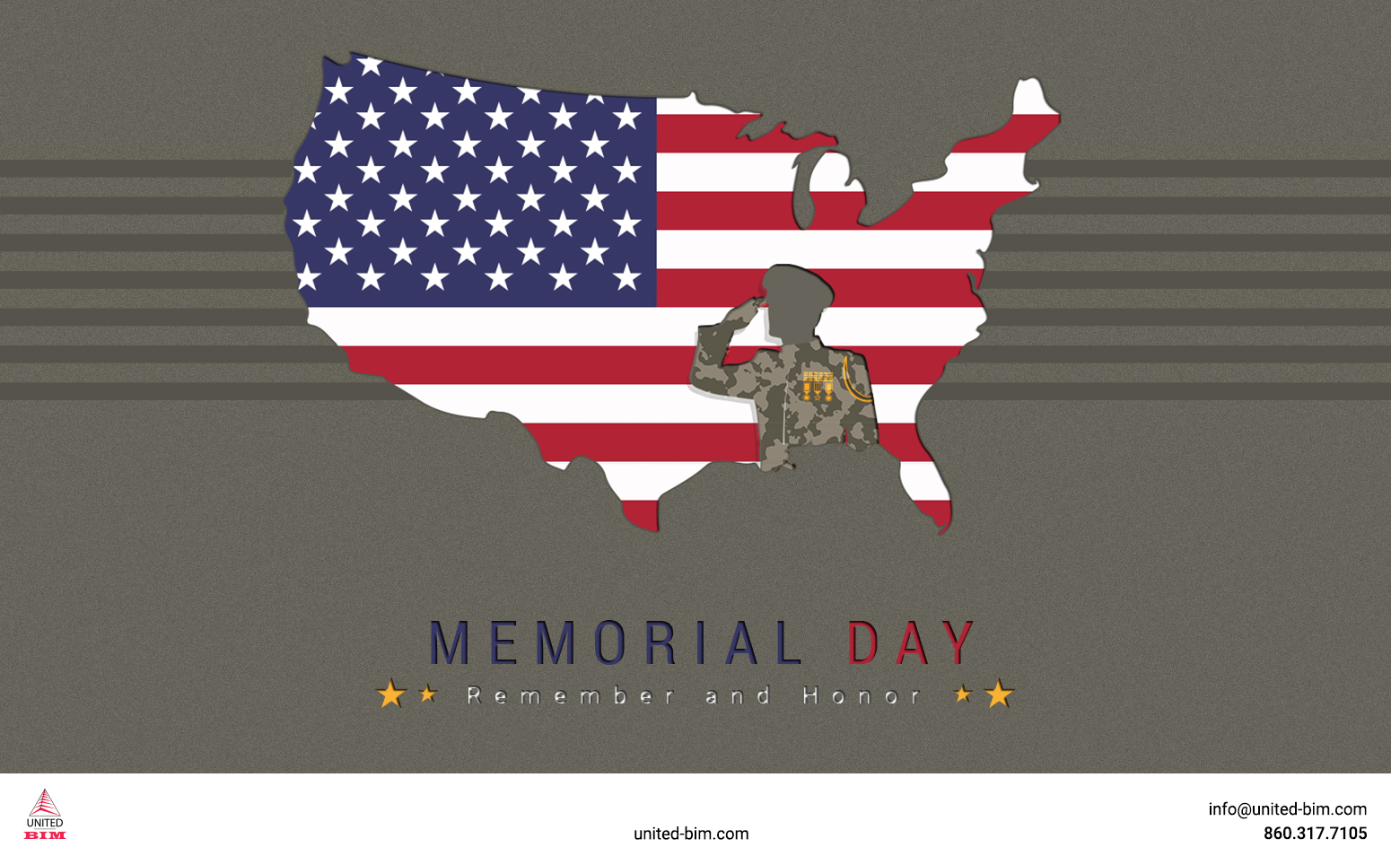 Happy Memorial Day 2021 _Graphic by United-BIM