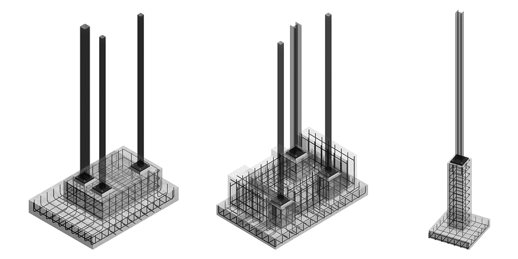 Concrete Rebar Reinforcement Model by United-BIM