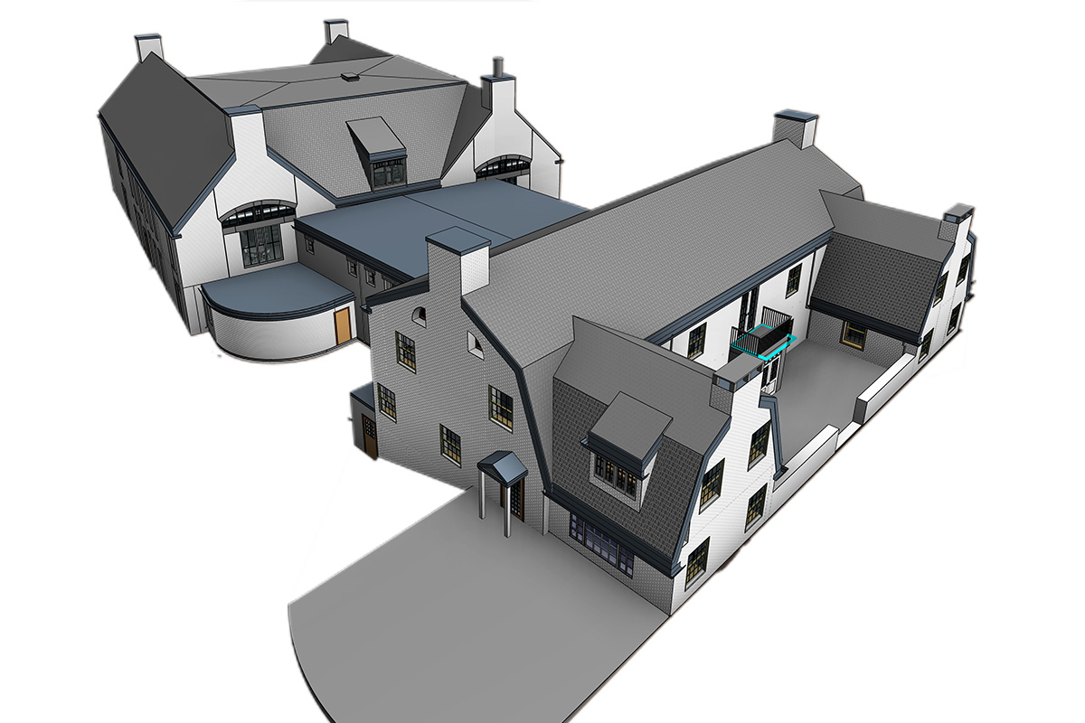 Architectural BIM Modeling and Coordination services by United-BIM Inc