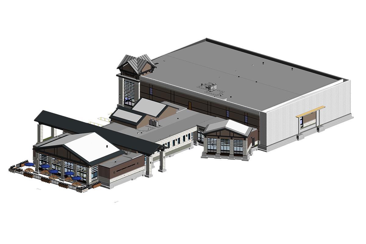 Architectural BIM services in Texas by United-BIM.