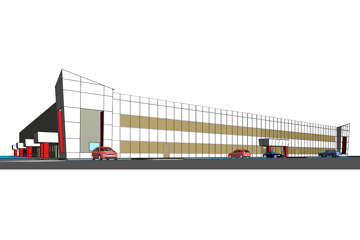 Architectural BIM Services in Boston for Industrial Project