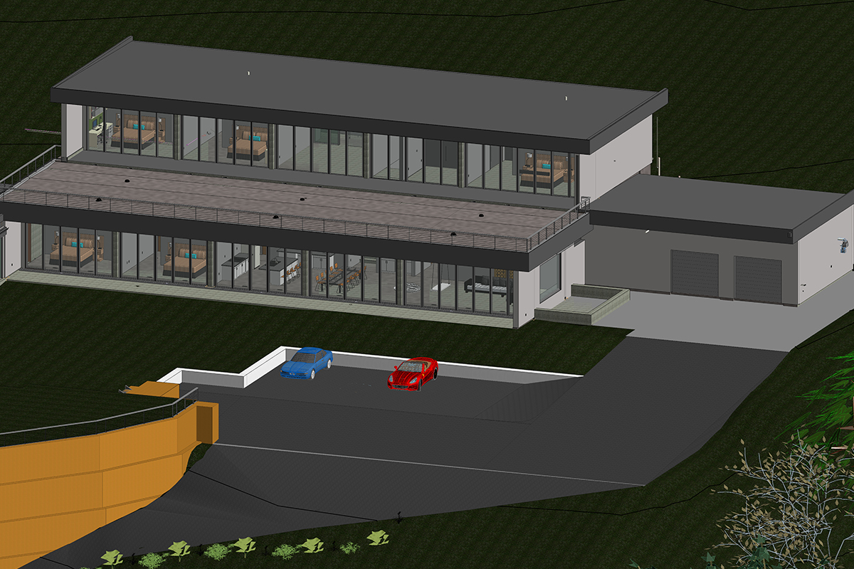 BIM Modeling Services for Luxurious Residence in CT