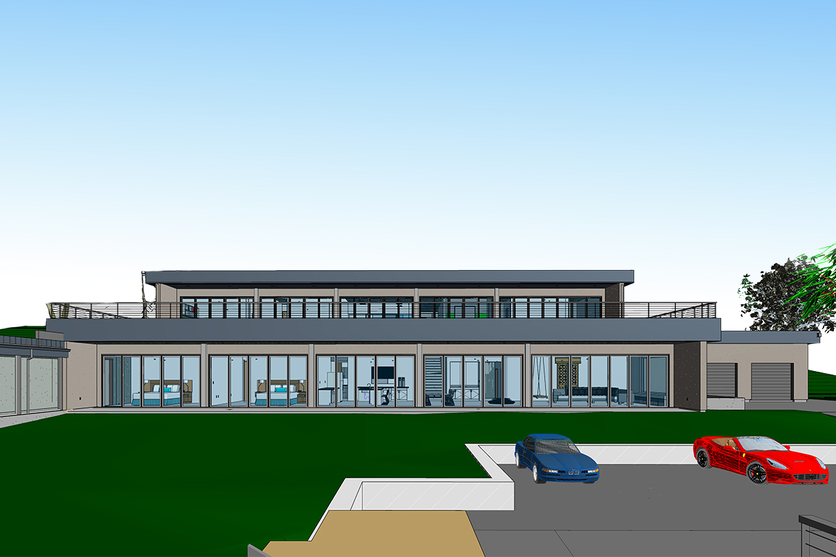 BIM Modeling Services for Luxurious Residence in Connecticut