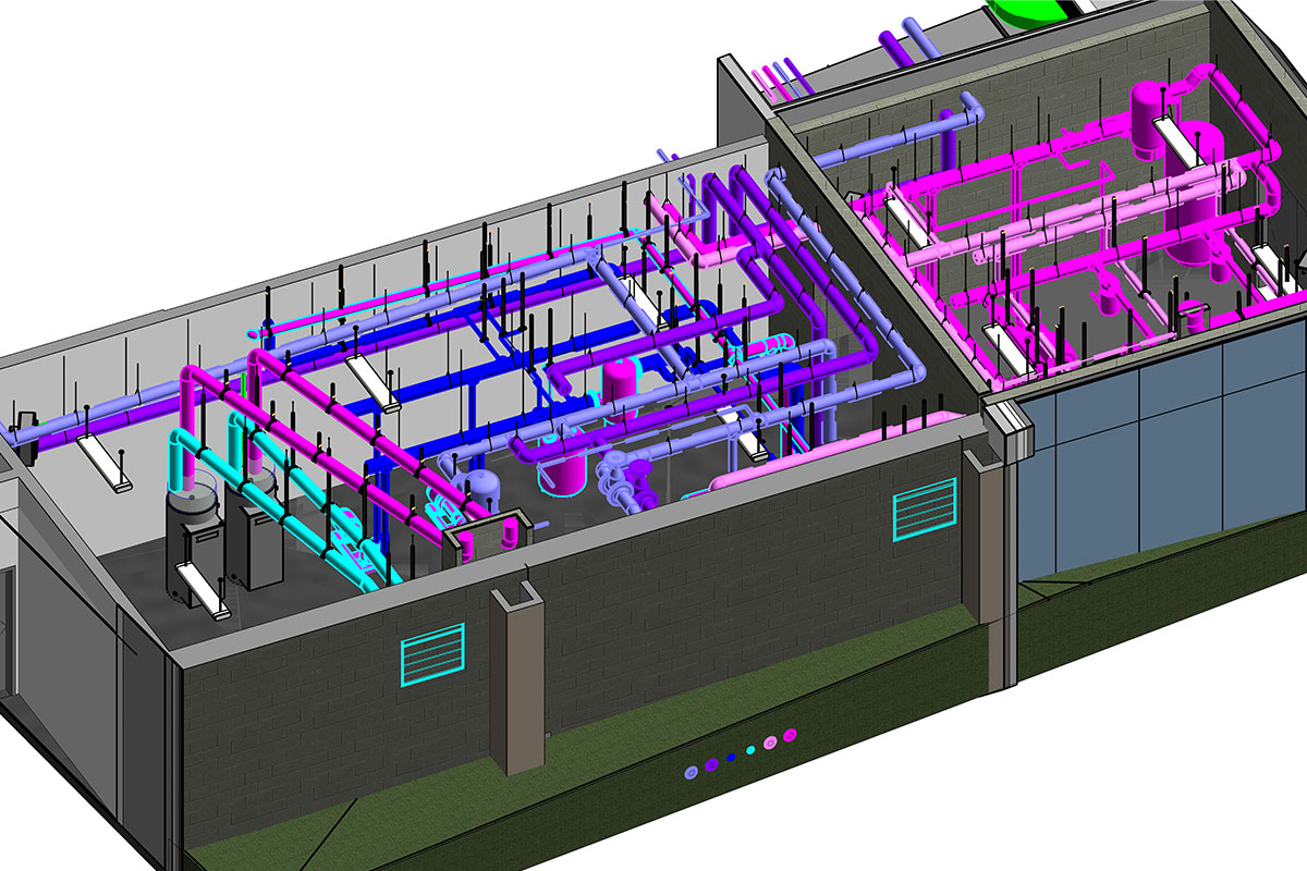 BIM Modeling and Coordination services by United-BIM Inc