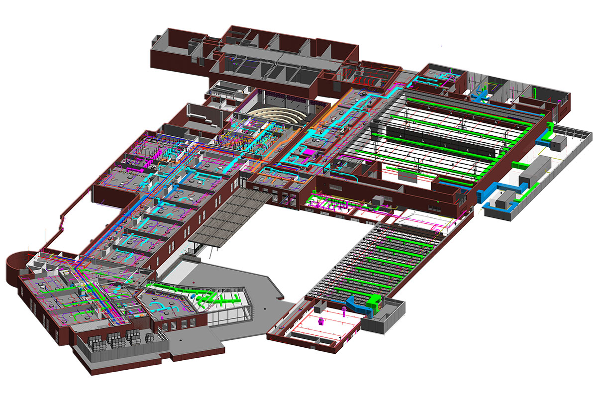 BIM Modeling and Coordination services in Texas by United-BIM.