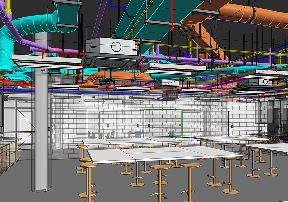 LOD 400 BIM Modeling and Coordination Services By United-BIM Inc.