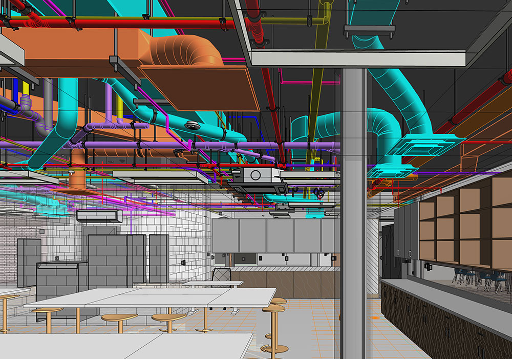 LOD 400 BIM Modeling and Coordination Services in Arizona By United-BIM Inc