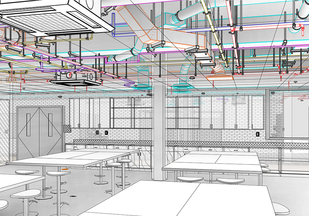 LOD 400 BIM Modeling and Coordination Services in Florida By United-BIM
