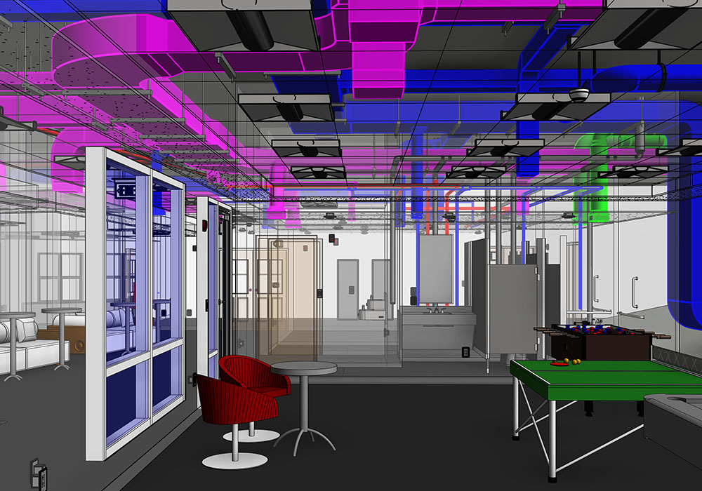 BIM LOD 400 MEP Modeling and Coordination Services in-Washington-by-United-BIM