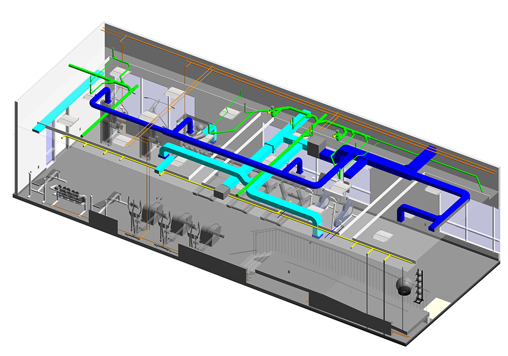 MEP Modeling and Coordination Services by United-BIM Inc.