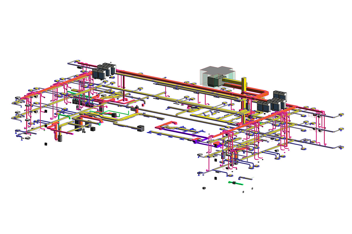MEP Modeling and Coordination by United-BIM Inc.