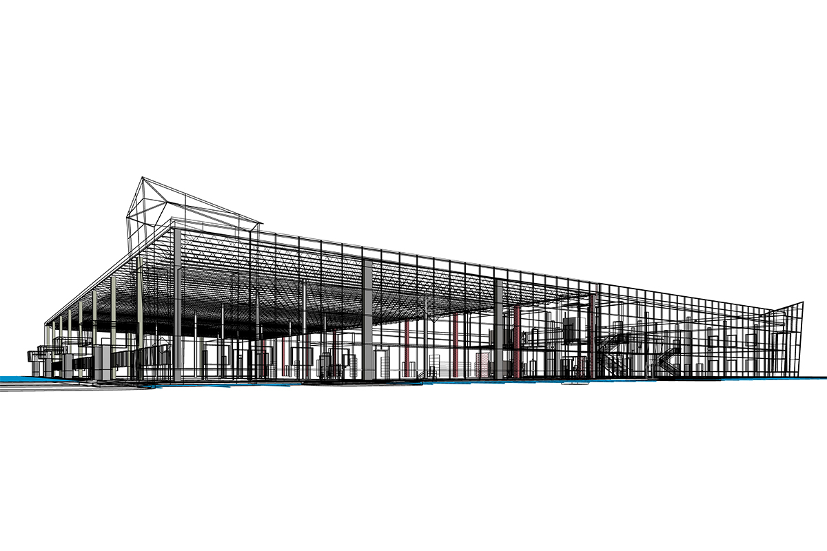 Structural Modeling Services for Industrial Project in Connecticut.