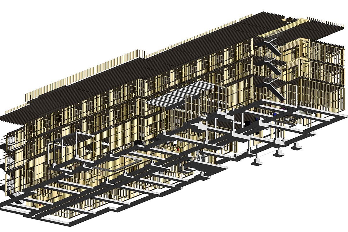 Structural BIM Modeling and Coordination services in-Pennsylvania-by-United-BIM