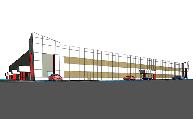 Architectural Modeling Services for Industrial Project in Connecticut (2)