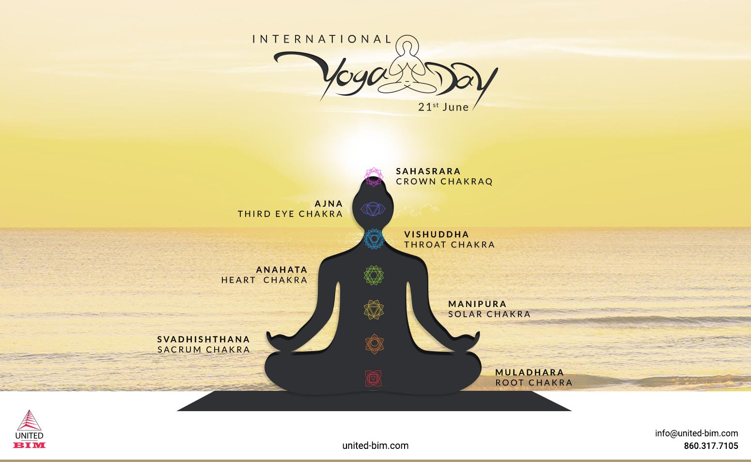 Yoga Day 2021 Graphic by United-BIM