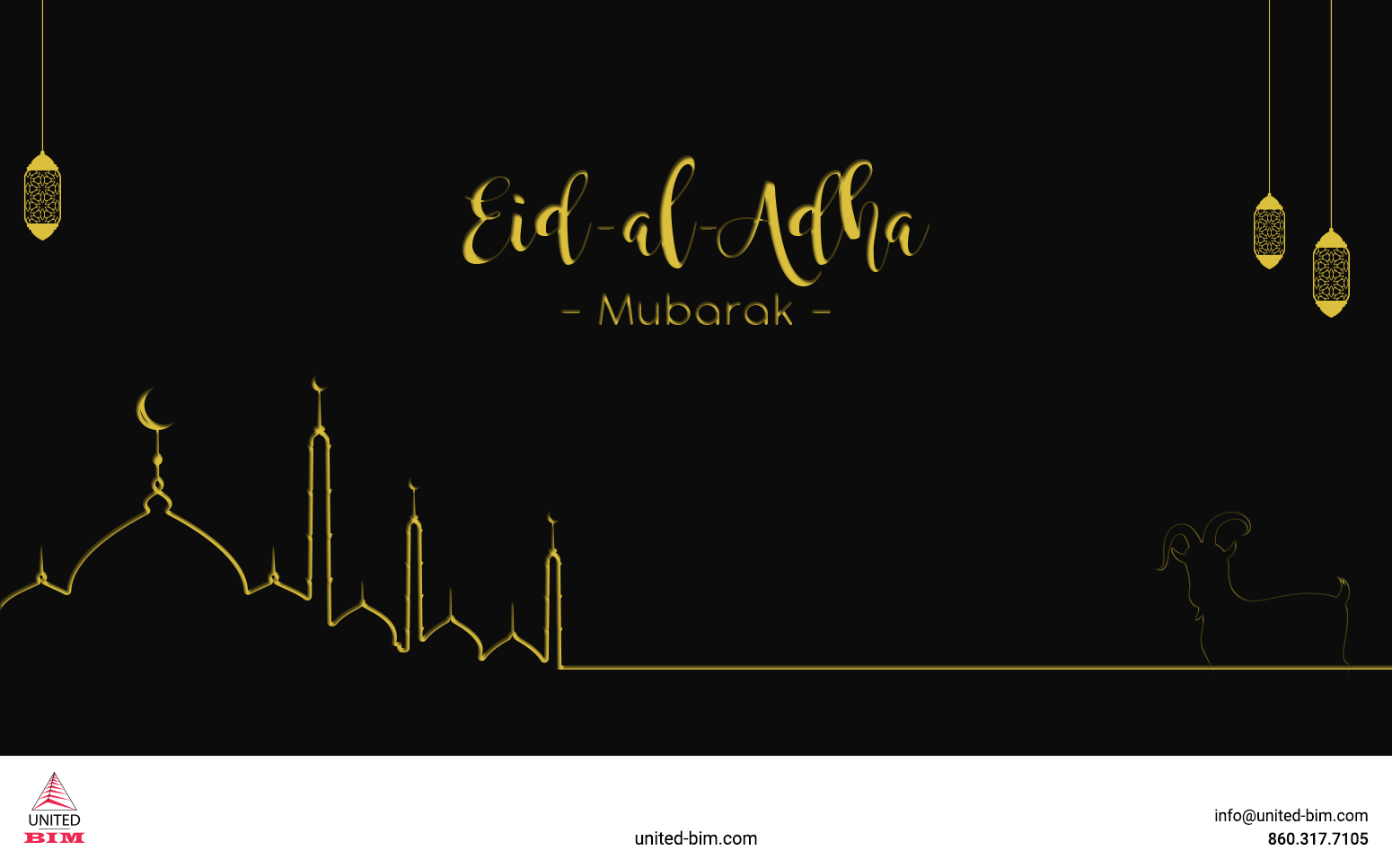 Eld Al Adha Mubarak_2021_Graphic by United-BIM
