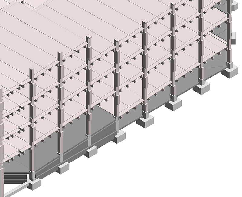 Structural Precast Detailing Services by United-BIM Inc