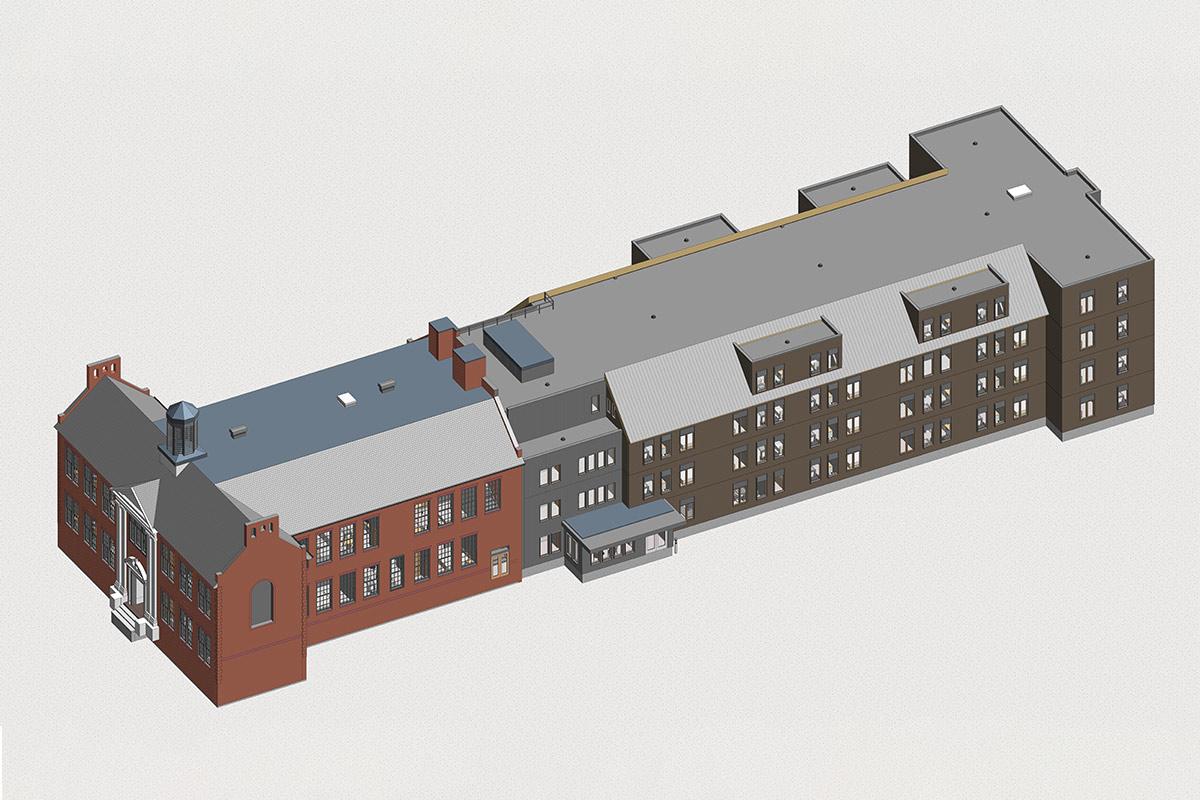 Architectrual BIM Modeling Services in Ontario by United-BIM