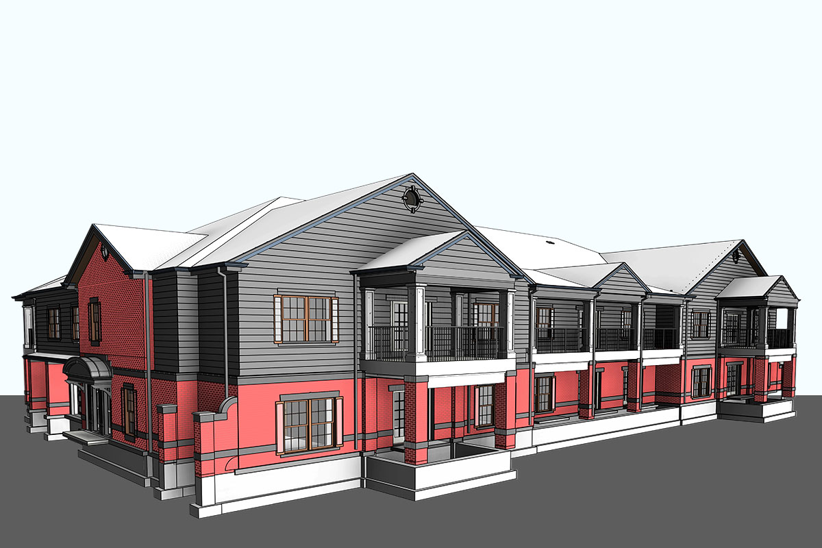 Architectural BIM Modeling Services in Indiana by United-BIM