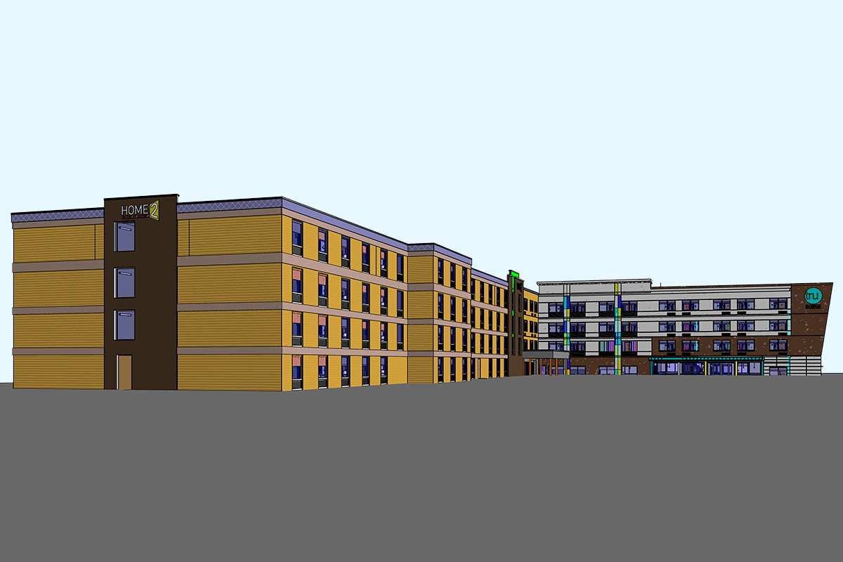 Architectural BIM Modeling Services in Virginia by United-BIM