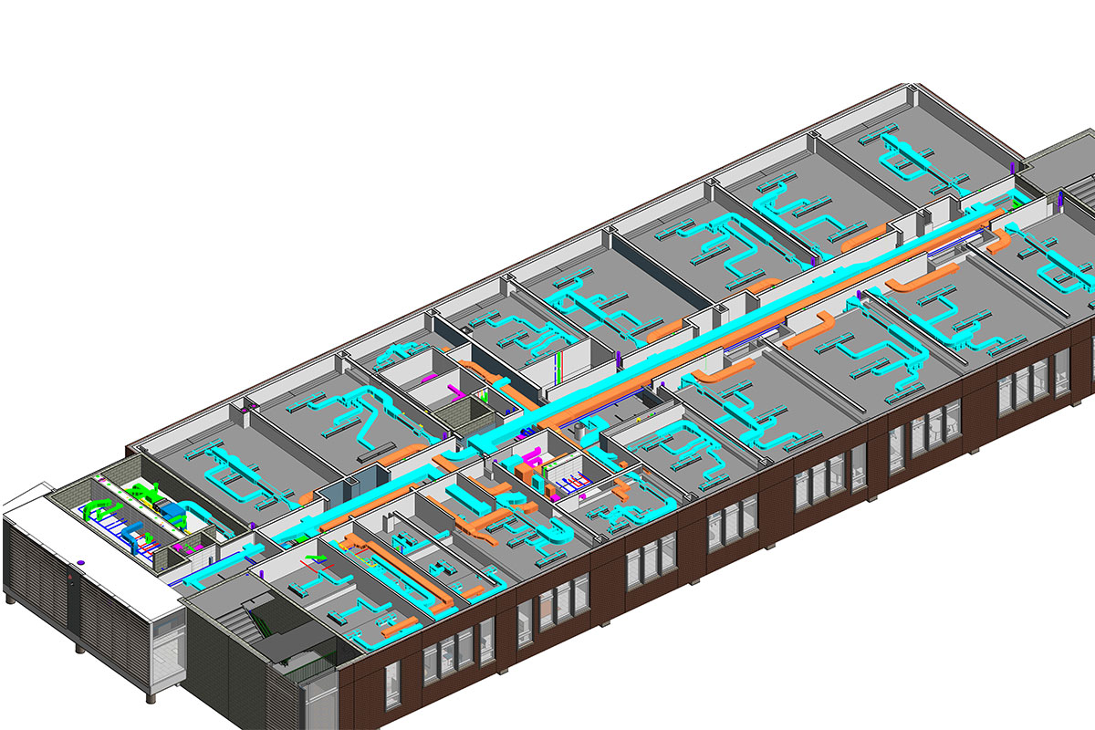 BIM-MEP-Modeling-and-Coordination-service-in Texas-by-United-BIM