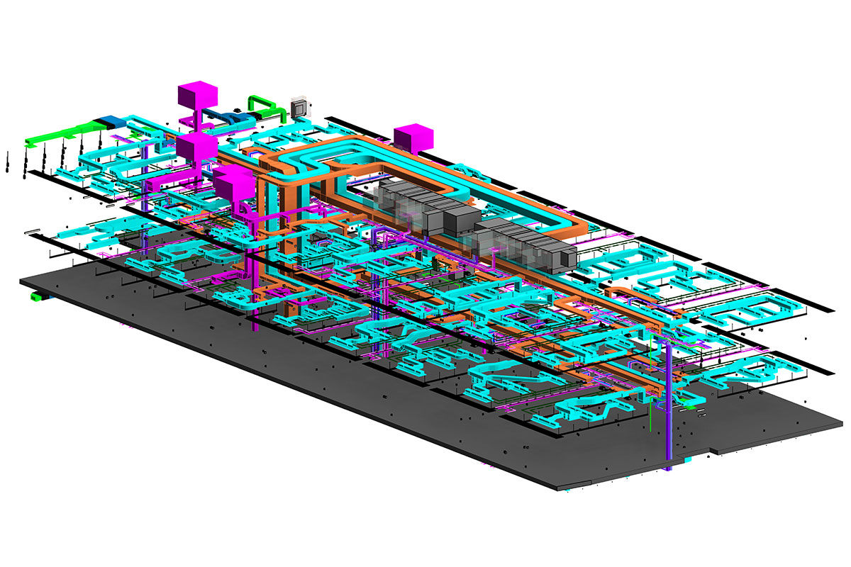 BIM-MEP-Modeling-and-Coordination-services-in Texas-by-United-BIM Inc.