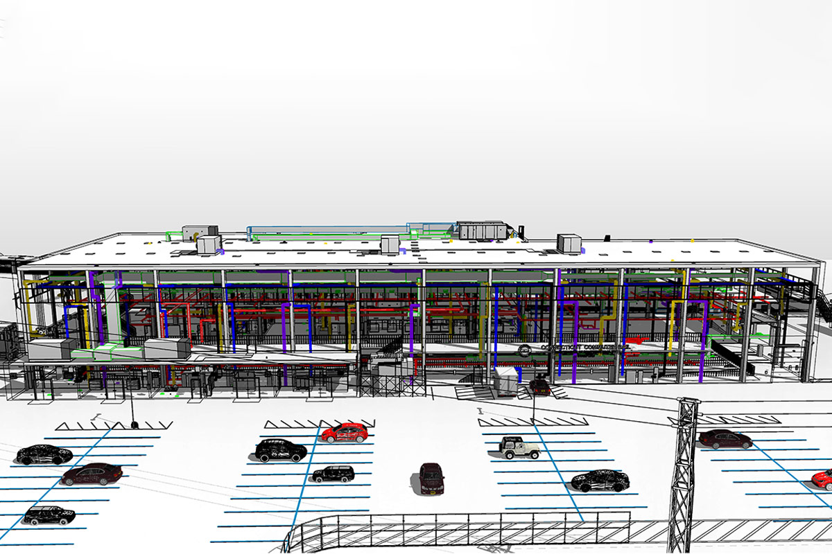 BIM Modeling Services in Tennessee by United-BIM