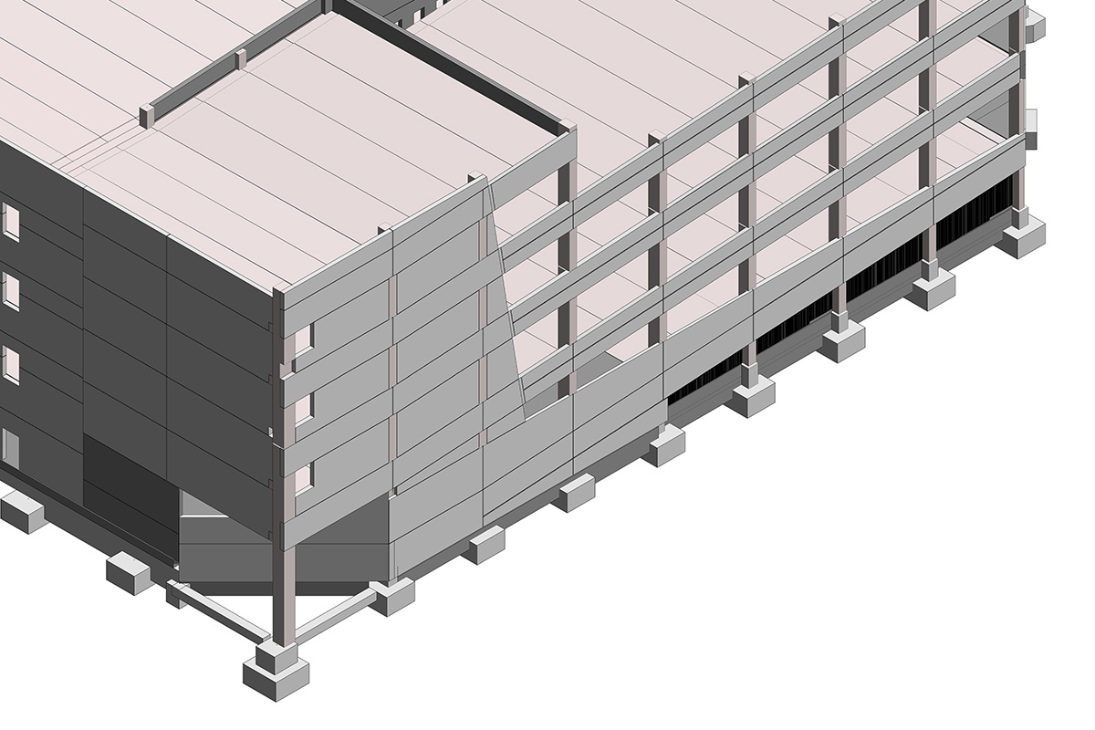 BIM Structural Modeling Services in Indiana by United-BIM