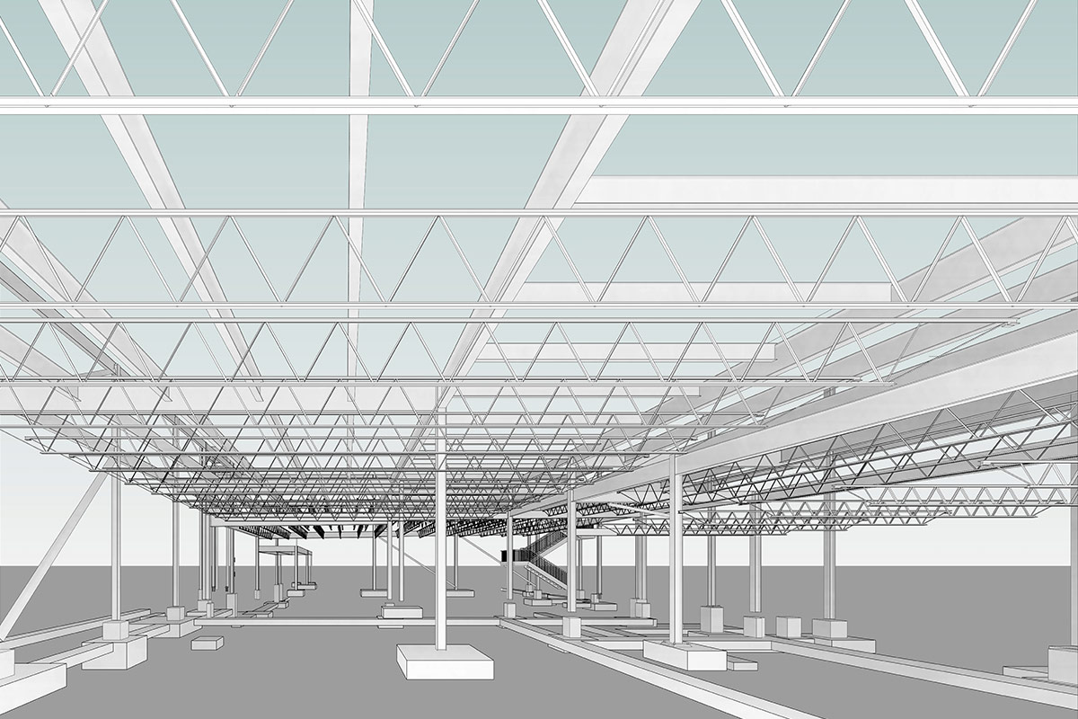 BIM Structural Modeling and Coordination Services in South Carolina by United-BIM