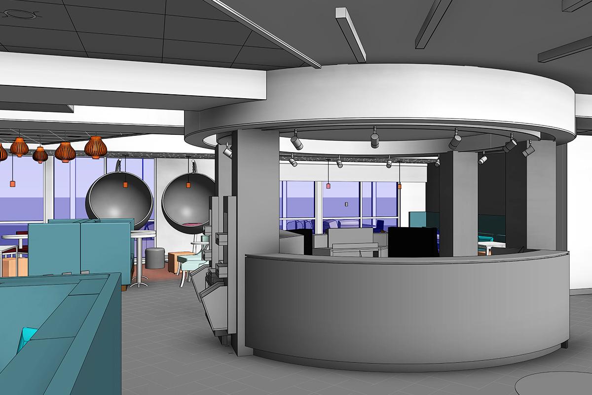 Interior BIM Modeling Services in Alberta by United-BIM